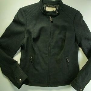 Banana Republic Jacket Military NWT black size 6